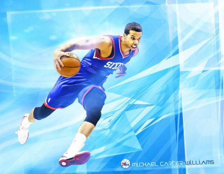 Go Hard: Michael Carter-Williams by HZ-Designs