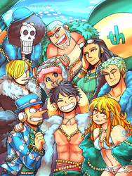 One Piece- 20th Anniversary by Sogequeen2550