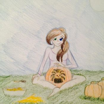 || 10-6th Event || Pumpkin Hunt and Carving || by Marclenia