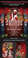Jingle Christmas Party-Club Flyer Template by Hotpindesigns