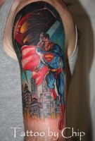 Superman by tattooedone