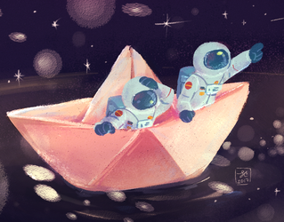 Little star sailors by dapskie