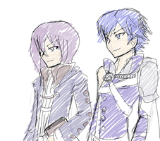 Speed draw - Chrom and Tactician by General-Loki