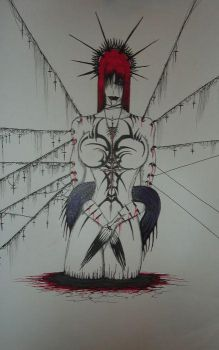 Bloody Virgen Mary by Humanis