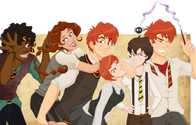 Hogwarts Bunch by Weasley-Detectives