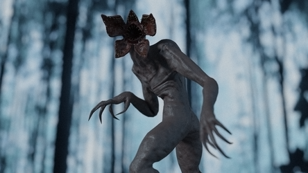 Another Demogorgon Render by Monmonstar