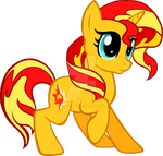 Sunset Shimmer by kiddysa-bunnpire