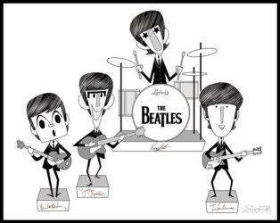 The Beatles by stephensilver