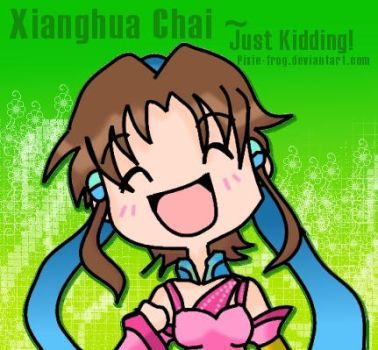 Just Kidding...  Xianghua Chai by pixie-frog