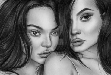 Kendall and Kylie by laurenjade15