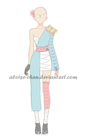 [SOLD] Samurai Outfit Adoptable by Aloise-chan