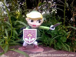 Wind Waker Link - Papercraft by Lyrin-83