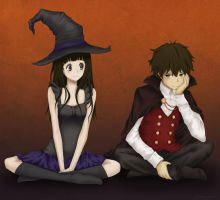 Hyouka Halloween by lagoliv