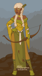 Viking Archer Girl by Nameless75