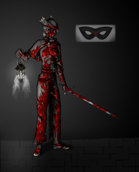 Shali 2015 Hallow's Eve (Bloody) Costume by Sabehlra