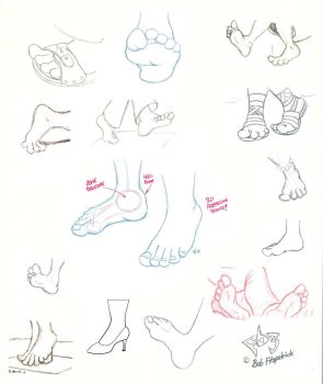 Foot Tutorial by Gulliver63