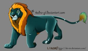 Magic Lion - Hefaistos by Kedra-PL