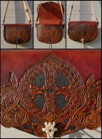 Vargkors Shoulder Bag by Wodenswolf