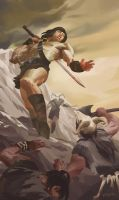The Barbarian by RoderickConstance