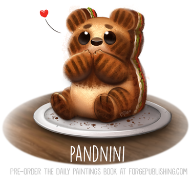 Daily Paint 1641. Pandini by Cryptid-Creations