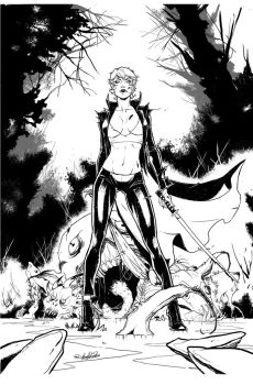 Zenescope-Inferno: RINGS OF HELL #3 cover C by tinavalentino80