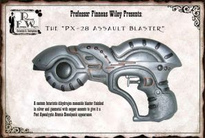 The PX-28 Assault Blaster by davincisghost