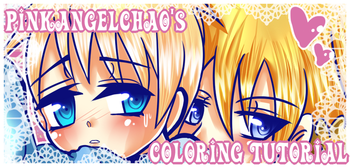 .::COLORING TUTORIAL::. by PinkAngelChao