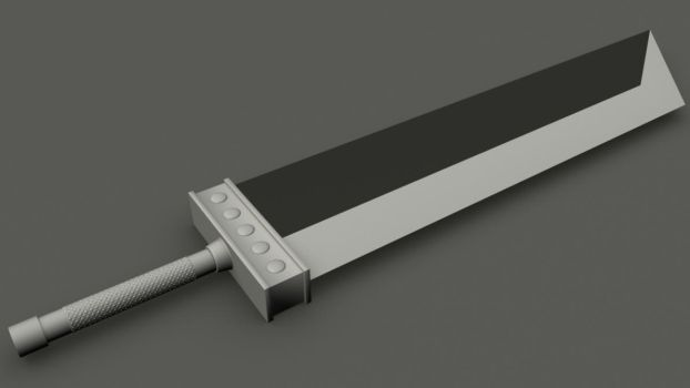 Buster Sword v1 by elements212