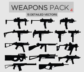 Weapons Pack #4 SMGs by Zee-Who