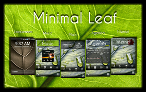 Minimal Leaf Android OS by Pinback1