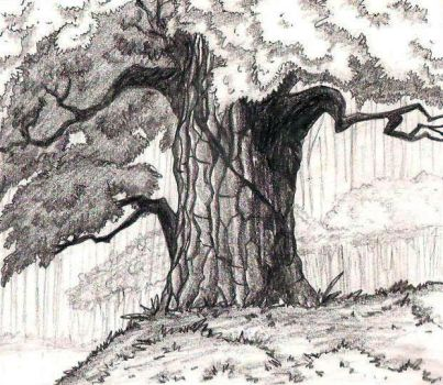 tree by lacewingz