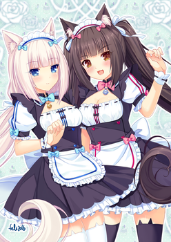 Vanilla and Chocola by Felielle