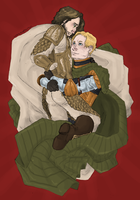 GoT : Brienne and Jaime by LadyNorthstar