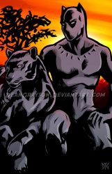 Black Panther by DeanGrayson