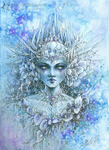 Snow Queen (Blooms of Ice) by aruarian-dancer