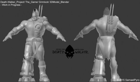 Death Walker (The Game) - Grimlock 3DModel ++ by SamaelPyro