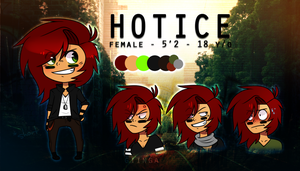 Hotice Reference Sheet by giinga