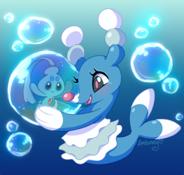 Brionne n Phione Donation Doodle by Ambunny