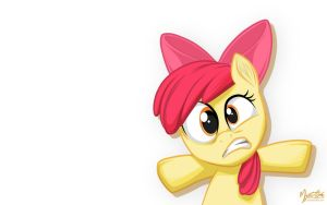 Apple Bloom - To the Wall by mysticalpha