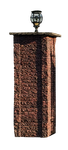 Brick Lamp or Fence Post 4 by TheStockWarehouse