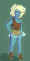 shoulder opal by TinyPeridot