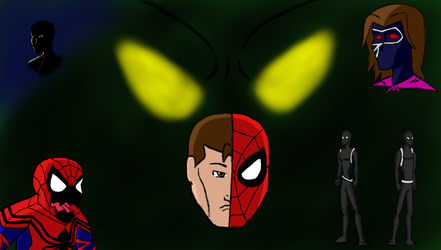 Spider-man Family season 3 Family Feud by stelly777