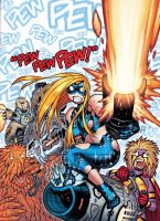 Cover art for Nov.25's EMPOWERED: PEW PEW PEW! by AdamWarren