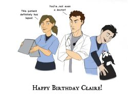 Happy Birthday Claire by spiritwolf77