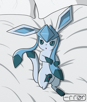 Glaceon by AnErrorHasOccurred