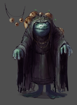 Frog Seer by Rainbows-Or-Knives