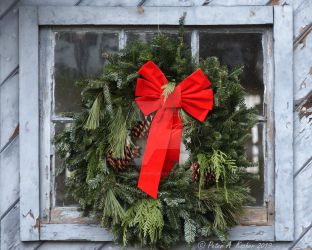 Christmas Wreath by peterkopher