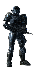 My Halo Reach armor 5 by FelgrandKnight34