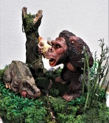 Mike Parks Kong Side View by Legrandzilla