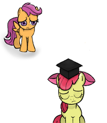 NATG day 29: Graduation Day sans one by Dawn-Sparkle06